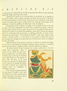 Untitled, pg. 83, in the book Pantagruel by François Rabelais (Paris: Albert Skira, 1943).