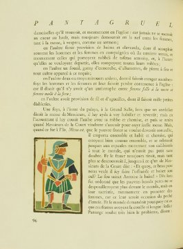 Untitled, pg. 96, in the book Pantagruel by François Rabelais (Paris: Albert Skira, 1943).