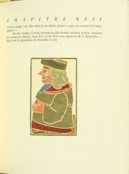 Untitled, pg. 103, in the book Pantagruel by François Rabelais (Paris: Albert Skira, 1943).
