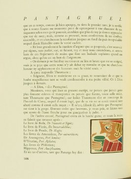 Untitled, pg. 108, in the book Pantagruel by François Rabelais (Paris: Albert Skira, 1943).