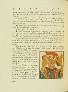 Untitled, pg. 114, in the book Pantagruel by François Rabelais (Paris: Albert Skira, 1943).