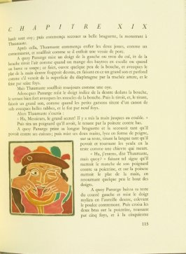 Untitled, pg. 115, in the book Pantagruel by François Rabelais (Paris: Albert Skira, 1943).