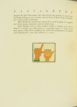 Untitled, pg. 116, in the book Pantagruel by François Rabelais (Paris: Albert Skira, 1943).