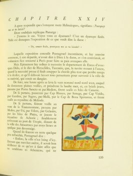 Untitled, pg. 135, in the book Pantagruel by François Rabelais (Paris: Albert Skira, 1943).