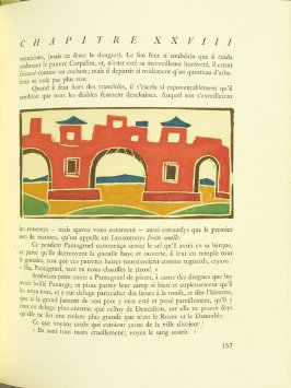 Untitled, pg. 157, in the book Pantagruel by François Rabelais (Paris: Albert Skira, 1943).