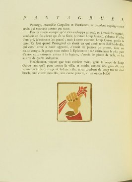 Untitled, pg. 164, in the book Pantagruel by François Rabelais (Paris: Albert Skira, 1943).