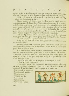 Untitled, pg. 166, in the book Pantagruel by François Rabelais (Paris: Albert Skira, 1943).