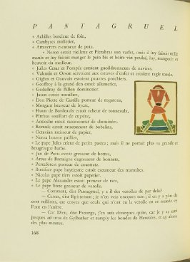 Untitled, pg. 168, in the book Pantagruel by François Rabelais (Paris: Albert Skira, 1943).