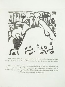 Untitled in the book L'Enchanteur pourrissant by Guillaume Apollinaire (Paris: Henry Kahnweiler, 1909).