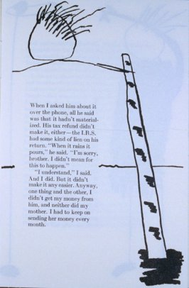 """When I asked him about it. . .,"" page in the book Elephant (Fairfax: Jungle Garden Press, 1988)"