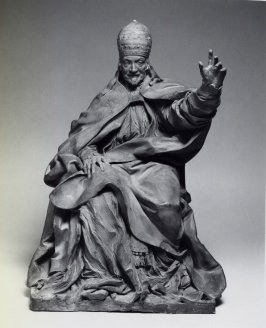 Model for the tomb figure of Pope Alexander VIII