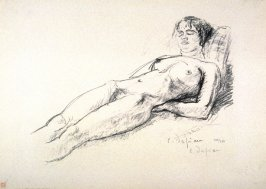 "Untitled (nude woman sleeping) from the portfolio ""Le chien de pique"""