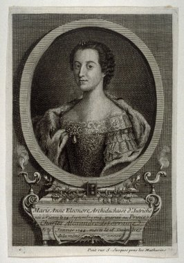 Portrait of Marie Eleonore, Archduchess of Austria, died 1744