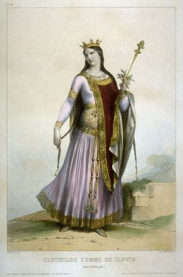 Clothilde, wife of Clovis (Queen of France 492)
