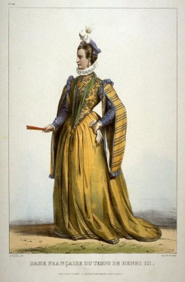 French Woman of the time of Henri III