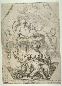 Allegory of the Republic of Venice with Lion and Unicorn