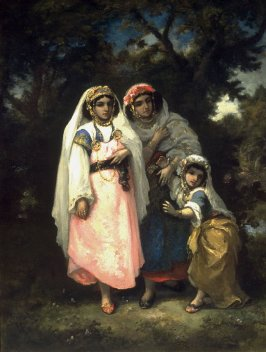 Three Gypsies in a Clearing