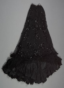 Skirt from evening dress (with bodice, a )