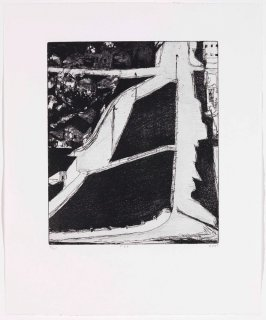 #33 (hillside streets), from the portfolio 41 Etchings Drypoints