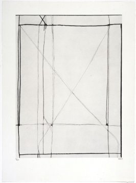 #1 from the portfolio, Nine Drypoints and Etchings