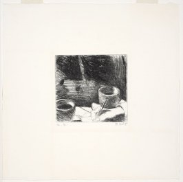 Untitled, (Two Bowls and Hand)