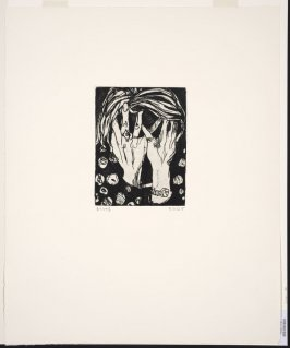 Untitled (Phyllis, hands covering face)