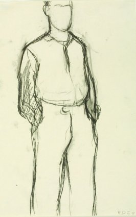 Untitled Figure Study (Theophilus Brown)