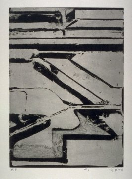 pl. 1, from the portfolio, Five Aquatints with Drypoint