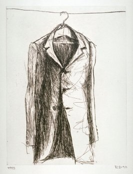 Coat I, illustration for the book Poems of W. B. Yeats (San Francisco: Arion Press, 1990)
