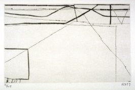 #7 from the portfolio, Nine Drypoints and Etchings