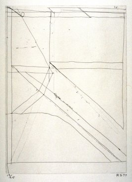 #9 from portfolio, Nine Drypoints and Etchings