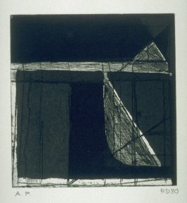 Isosceles Triangle and Right Triangle from the portfolio, Four Small Prints