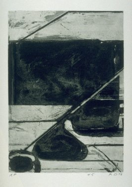pl. 5, from the portfolio, Five Aquatints with Drypoint