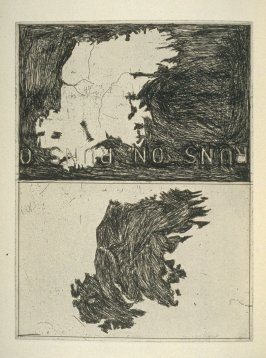Double Map of Ireland, plate 1 before page 3 in the book Poems of W. B. Yeats (San Francisco: Arion Press. 1990)