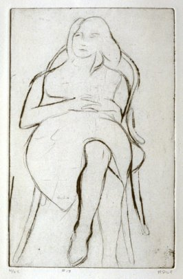 #13 (the artist's daughter, Gretchen), from the portfolio 41 Etchings Drypoints