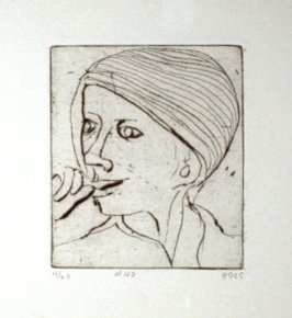 #40 (Phyllis), from the portfolio 41 Etchings Drypoints