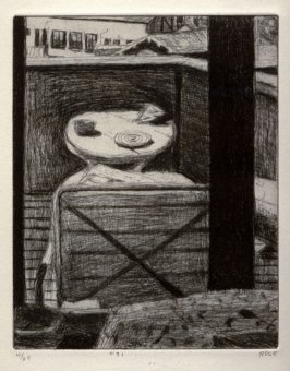#31 (view of artist's deck), from the portfolio 41 Etchings Drypoints