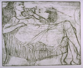 Working proof 3 for #18 in 41 Etchings Drypoints