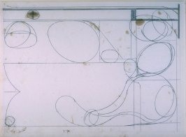 Drawing for #3, from portfolio, Six Softground Etchings