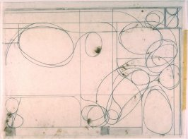 Drawing for #5, from the portfolio, Six Softground Etchings