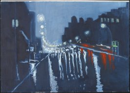 Untitled (Cityscape at Night)
