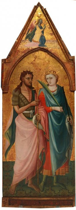 Saint John the Baptist and Saint Miniato