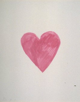 Untitled (pink heart) from the book The Poet Assassinated by Guillaume Apollinaire, translated by Ron Padgett (New York: Tanglewood Press, Inc., 1968)
