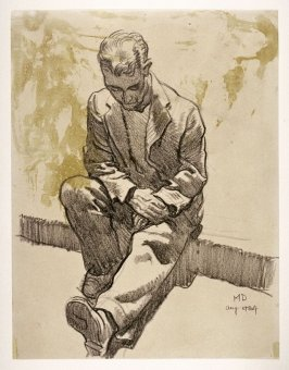 """Study for """" The Forgotten Man"""""""