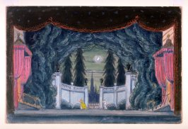 Variant Setting for Papillons, Diaghileff's Ballet Russe