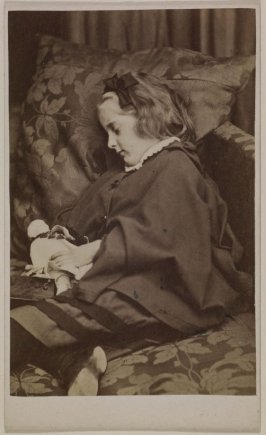 Frederica Harriette Peel with Doll