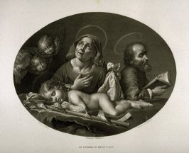 Le Sommeil du Petit St. Jean ( the sleep of little St. Joan)..seventh plate of the book.... Le Musée royal (Paris: P. Didot, l'ainé, 1818), vol. 2