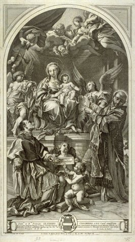 Adoration of the Virgin and Child