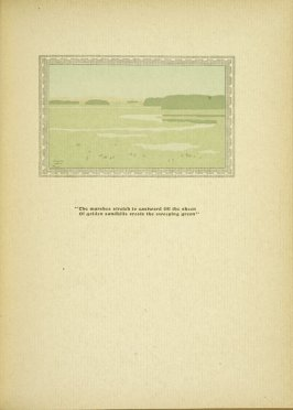"Untitled, accompanying the poem ""Ipswich Marshes,"" in the book By Salt Marshes by Everett Stanley Hubbard (Publisher and location unknown, 1908)"