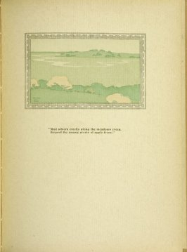 """Untitled, accompanying the poem """"Rain in May,"""" in the book By Salt Marshes by Everett Stanley Hubbard (Publisher and location unknown, 1908)"""